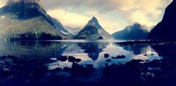 新西兰南岛米尔福德峡湾